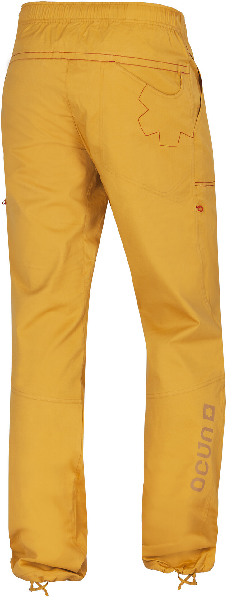 Ocun Jaws Pantaloni Uomo, golden yellow su Addnature Xfoyi